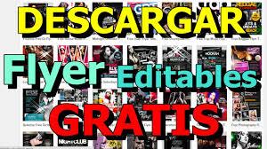 free flayers free flyer templantes gratis descargar psd cs6 editables youtube