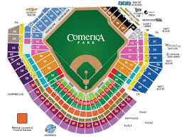erica park seating map