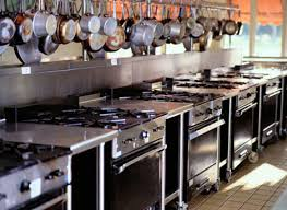 Brilliant Restaurant Kitchen Equipment Stoves A Inside Design Decorating