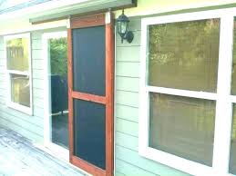 french door screen kit wood repair frame home kitchen