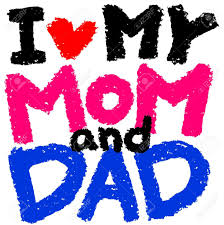i love my mom and dad clipart clipartfox i love my mom and dad stock