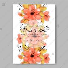 Mothers Day Card Template Gorgeous Red Poppy Color Anemone Floral Wedding Invitation Vector Template