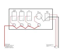wiring help for 3 gang panel switch lighter battery meter switches simply interrupt the circuit however if they have indicator lights there will be an additional terminal at the top of a switch for