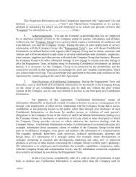 21 Non Compete Agreement Examples Pdf Word Examples