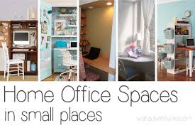 small space office. Unique Home Office Spaces Small Space
