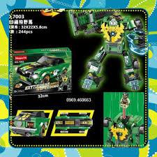 Đồ Chơi Giá Rẻ] Xếp Hình Ninjago Siêu Xe + Robot 2 trong 1 Màu Xanh lam.  Lego lắp ráp đồ chơi cho bé trai, giá chỉ 290,000đ! Mua ngay kẻo hết!