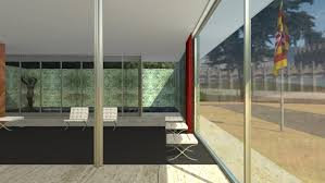 ludwig mies van der rohe barcelona. Barcelona-based 3D Visualisation Studio CL3VER Worked With The Mies Van Der Rohe Foundation To Create Virtual Tour, Which Gives Users 360-degree Views Ludwig Barcelona