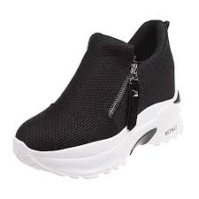 Kiminana Woman Fashion Solid Thick Platform Shoes ... - Amazon.com