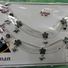 Fancy Silver Payal Designs With Price Aman Silver We Are Manufacturers Of Designer Hallmark 925