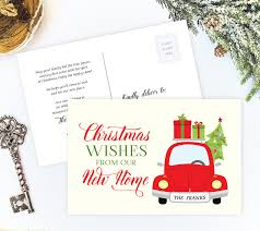 How To Address A Christmas Card Moving Christmas Cards