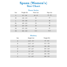 Spanx Size Chart Higher Power Spanx Higher Power Shorts Zappos Com