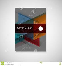 Abstract Business Flyer Design Vector Template In A4 Size Annual