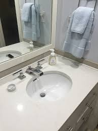 gap between vanity and wall