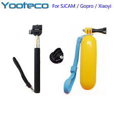 for gopro accessories monopod tripod mount floating bobber hand