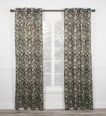 Black Patterned Curtains New Inspiration