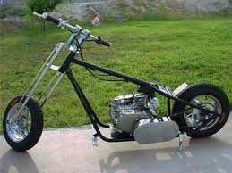 mini chopper by sin city choppers desertscooters com