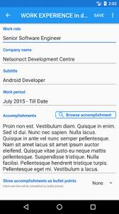 Resume Builder Free Cv Maker Resume Templates 4 0 3 Download Apk