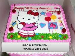 Yang Terpercaya Wa 0813 2291 3998 Cake Hello Kitty Bandung Facebook