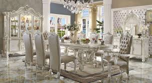 marlyn pedestal formal dining table with chairs