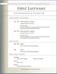 Best Resume Templates Word Mesmerizing Resume Templates Word Download Maniak Ress