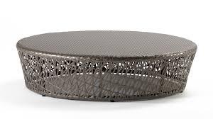 panama jack maldives round wicker coffee table