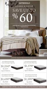Local GTA Deals Stearns And Foster Mattress Sale Sealy Inside Plan
