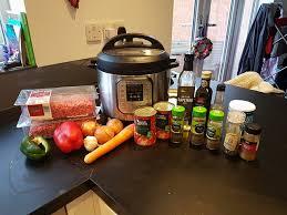 pressure cooker bolognese
