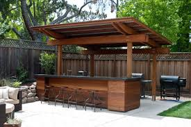 Backyard Designs With Pool And Outdoor Kitchen Mesmerizing 48 Creative PatioOutdoor Bar Ideas You Must Try At Your Backyard