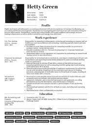Resume Examples By Real People Cpa Tax Accountant Resume Sample