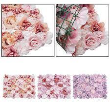 3d flower wall decor silk flowers for