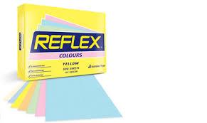 Optix Paper Colour Chart Reflex Colours Premier Paper