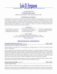 46 Elegant Collection Of Lpn Resume Sample - Resume Designs Ideas ...