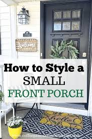 small front porches decorating ideas
