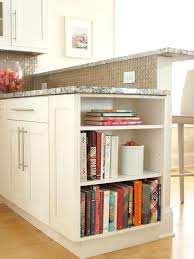 open shelf kitchen island contemporary i want shelves at one end of to display cookbooks for kitchen island ideas more with shelves