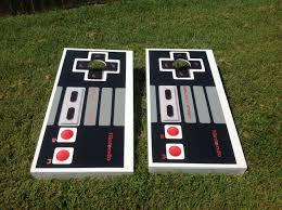 Cornhole Board Design Ideas Nintendo Cornhole Boards Kog Cornhole Boards Cornhole