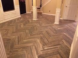 Wood Look Tile Random Pattern