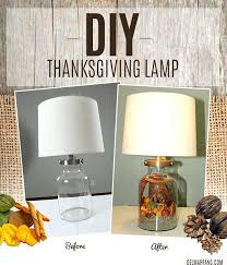 diy table lamps fall home decor ideas fall lamp on fall home decorations endearing diy pool diy table lamps