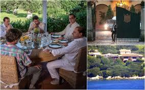 Le ville di Berlusconi tra finzione e realtà: dalla Villa Certosa di 1994  alla villa di Arcore