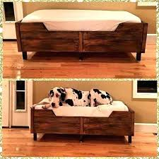 diy large dog bed diy large dog bed cover diy large wooden dog bed