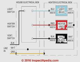 exhaust fan and heater for bathroom unique heater switch wiring diagram wiring wiring diagrams instructions