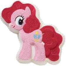 Wilton My Little Pony Cake Pan Pinkie Pie Aluminum Baking Pan