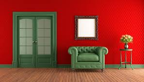 ... Living Room, Red Walls Green Armchair In Living Room Living Room Walls  Colors: Incredible ...