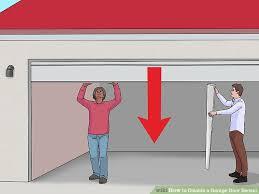 3 ways to disable a garage door sensor wikihow image titled disable a garage door sensor step 4