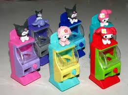 Mini Vending Machine Toy Enchanting Rare Yujin Sanrio My Melody Toy Capsule Vending Machine Mini Figure