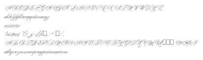 voorbeeld lettertype young love es