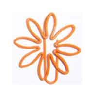 Flower Paper Clips Shaped Paperclips