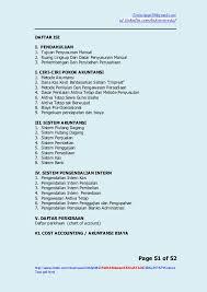 Contoh Chart Of Account Perusahaan Jasa Chart Of Account