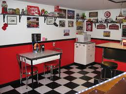 American Diner Kitchen Accessories American Diner Style In Red White Turquoise In London