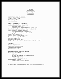example of resume for highschool students with no experience        sample of resume for high school student   no experience
