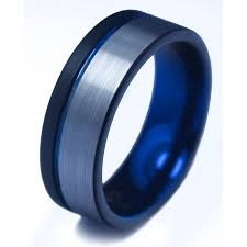 Tungsten Carbide Ring Size Chart Generic Silver Blue Usa Tungsten Engagement Ring Price In